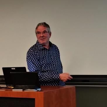 Albert van der Vliet UGA visit 4
